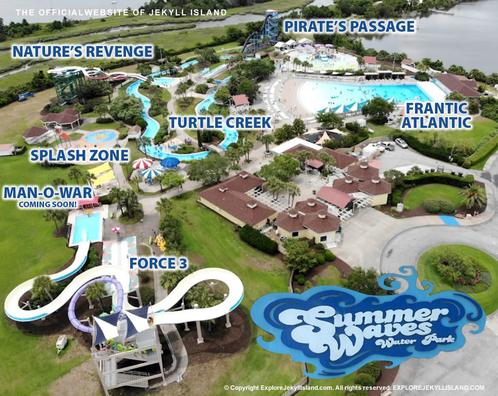 Summer Waves Water Park Jekyll Island
